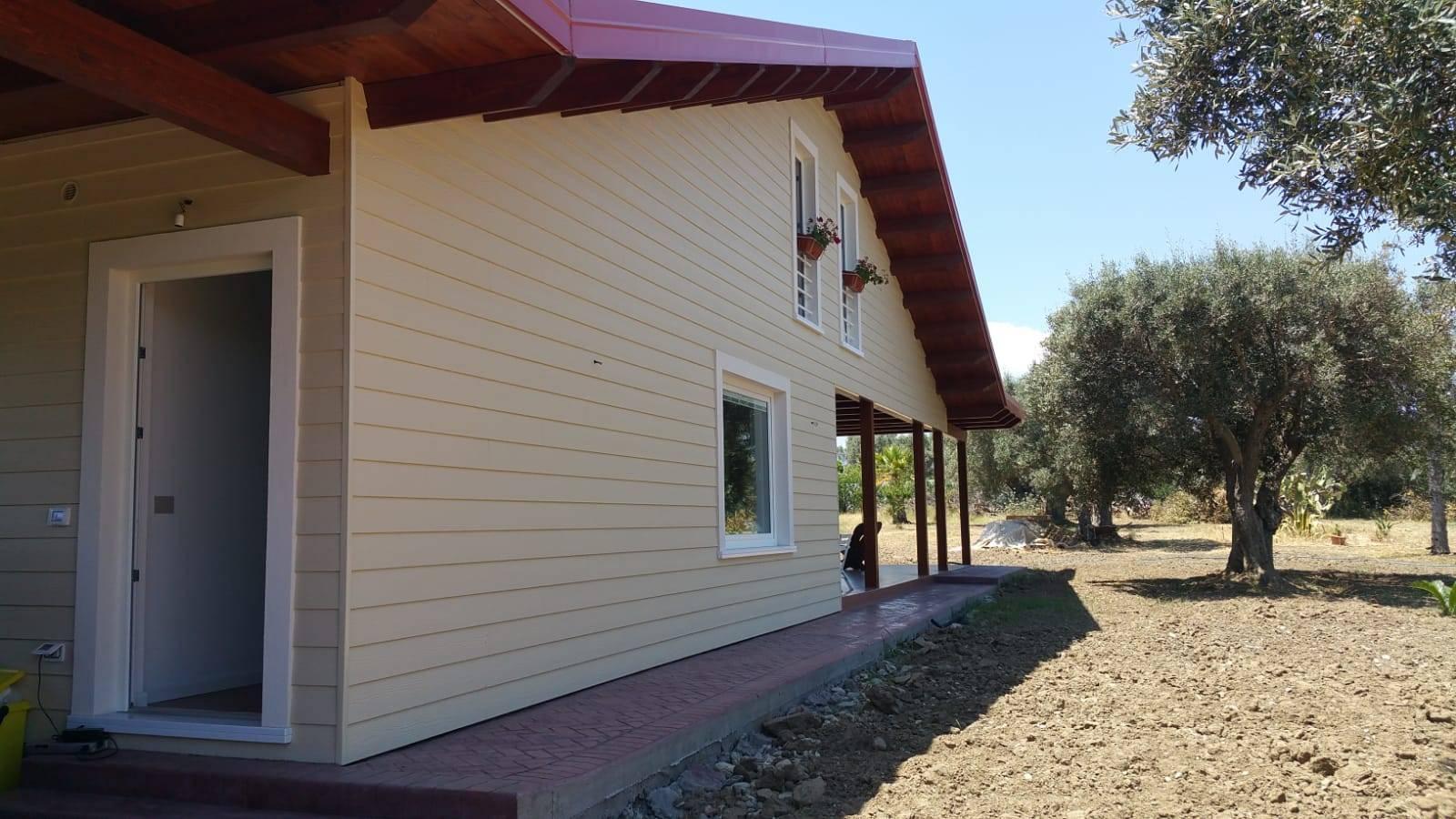 Quanto Costa Una Casa Prefabbricata Finita costruire una casa in legno: un progetto nel sud italia con