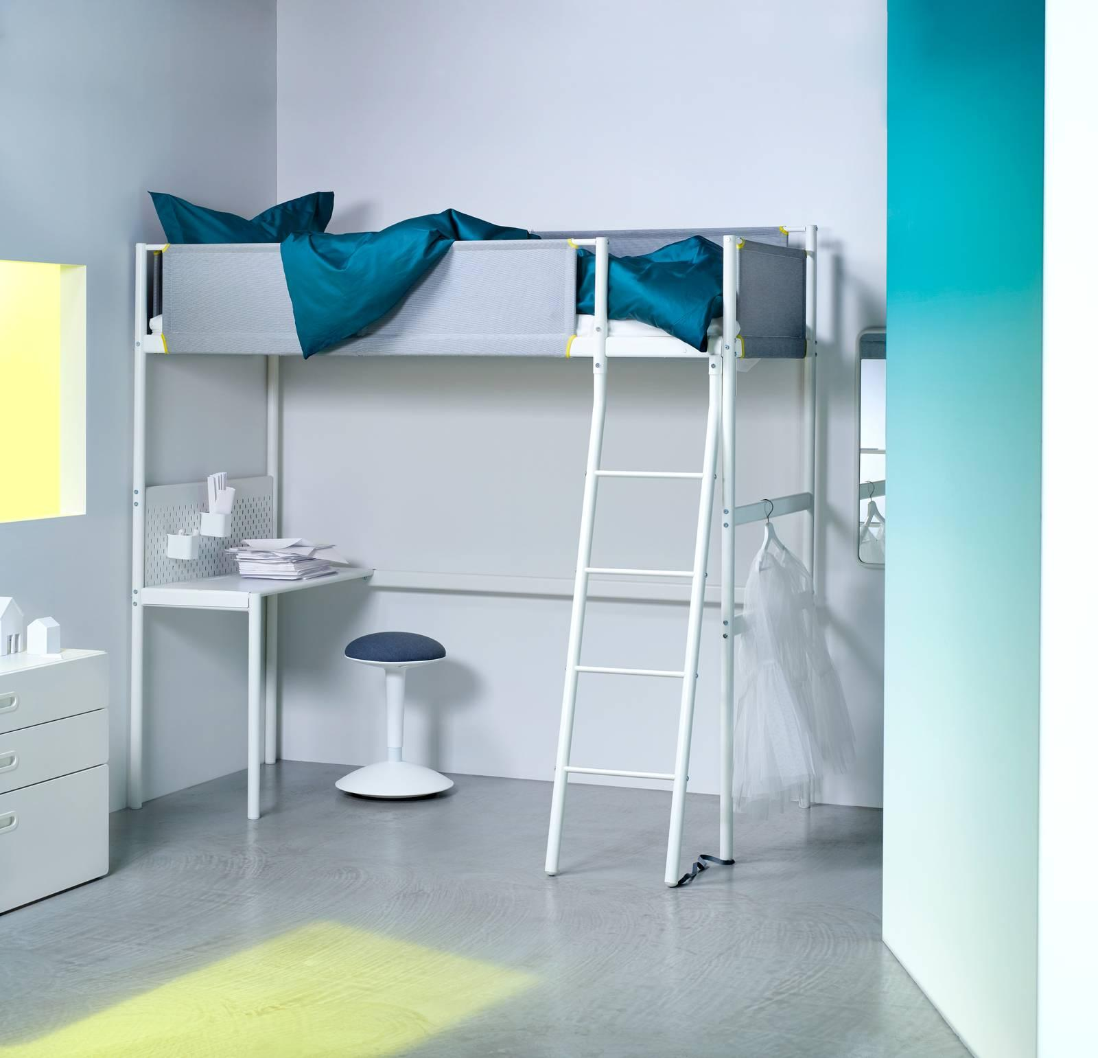 Letto A Castello Ikea Opinioni.Arredare La Cameretta Con Soluzioni Trasformabili E Salvaspazio