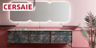"""Cerasa al Cersaie: un progetto """"a tre"""" per il bagno"""