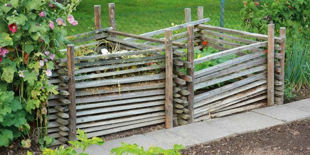 Realizzare una compostiera per il giardino