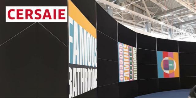 A Famous Bathrooms, prodotti di design in una galleria d'arte concettuale