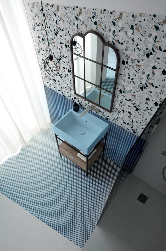 novità bagno lavabo volant_collez Acquarella di Colavene