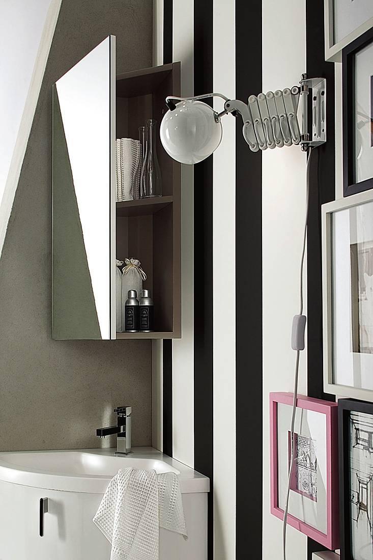 Specchio Per Lavandino Angolare soluzioni per sfruttare gli angoli in bagno - cose di casa