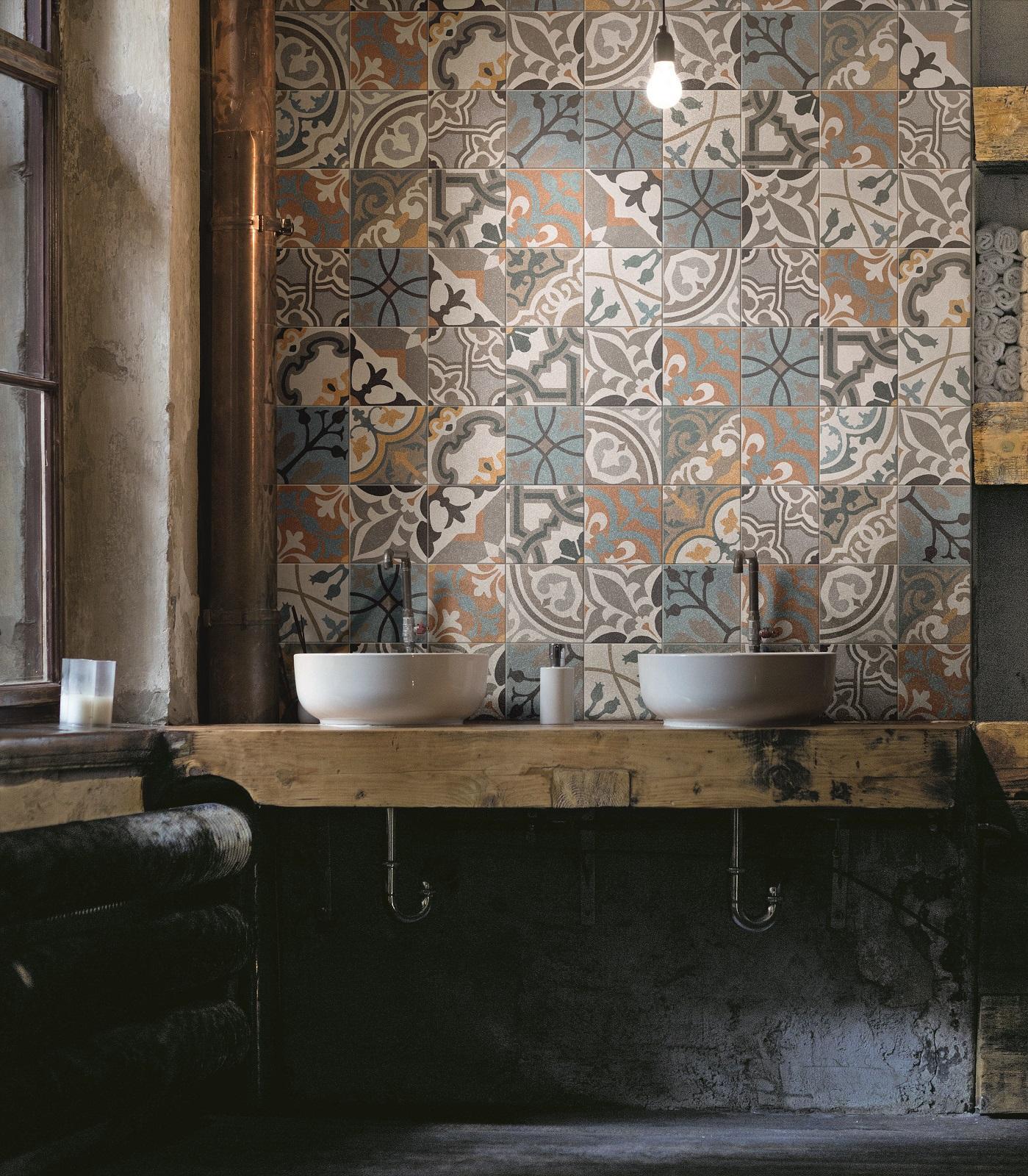 Favorito Bagno in stile industriale per una casa total look - Cose di Casa MY17