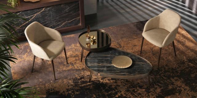 Casa in stile moderno: mix tra design contemporaneo e anni '40-'60