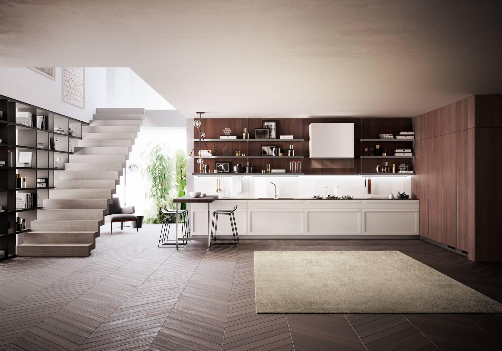 Casa in stile moderno mix tra design contemporaneo e anni for Stile contemporaneo casa