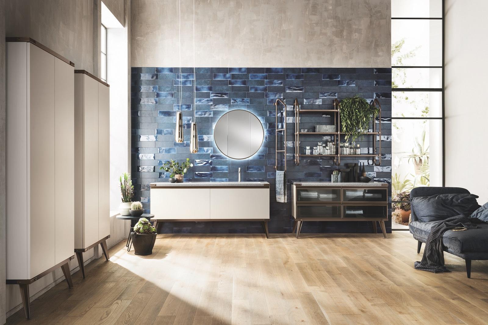 Eccezionale Bagno in stile industriale per una casa total look - Cose di Casa SC19