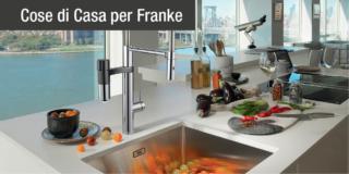 Franke Vital Capsule, miscelatori con filtro 100% eco-friendly