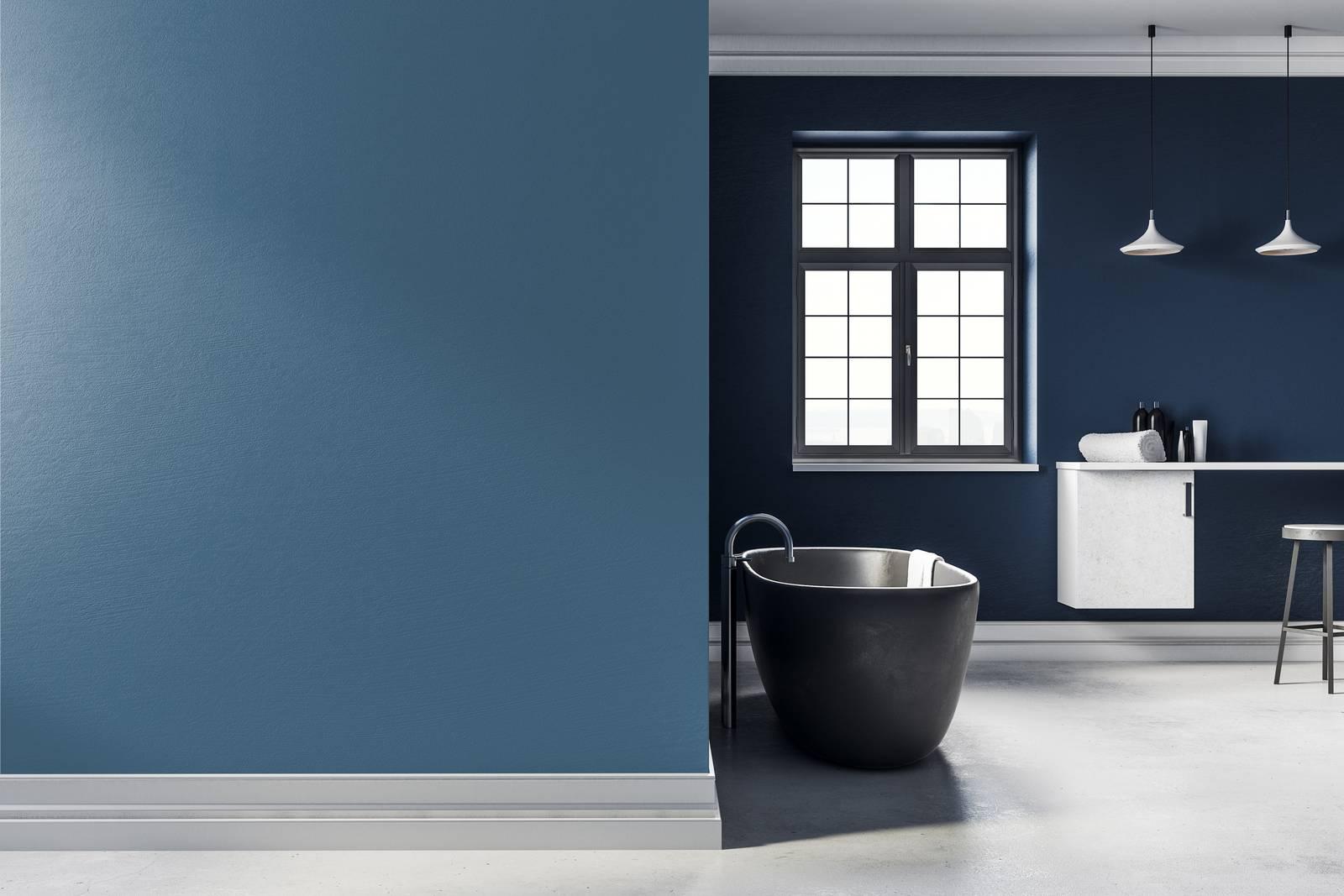 Colori Nuovi Per Tinteggiare Casa dipingere le pareti con il colore dell'anno 2020 blu pantone