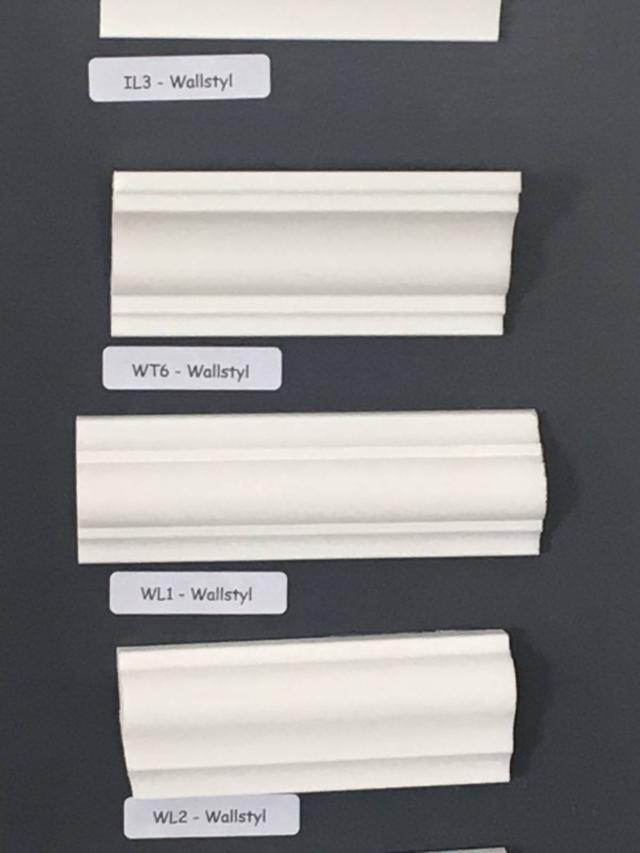 cornici in gesso per le pareti