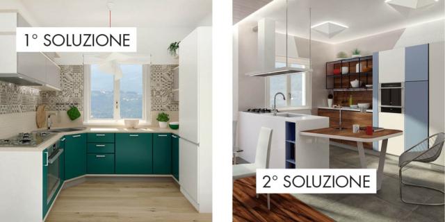Cucina Soggiorno 15 Mq.Progettazione Cucine Progetti Per Ristrutturare O Arredare
