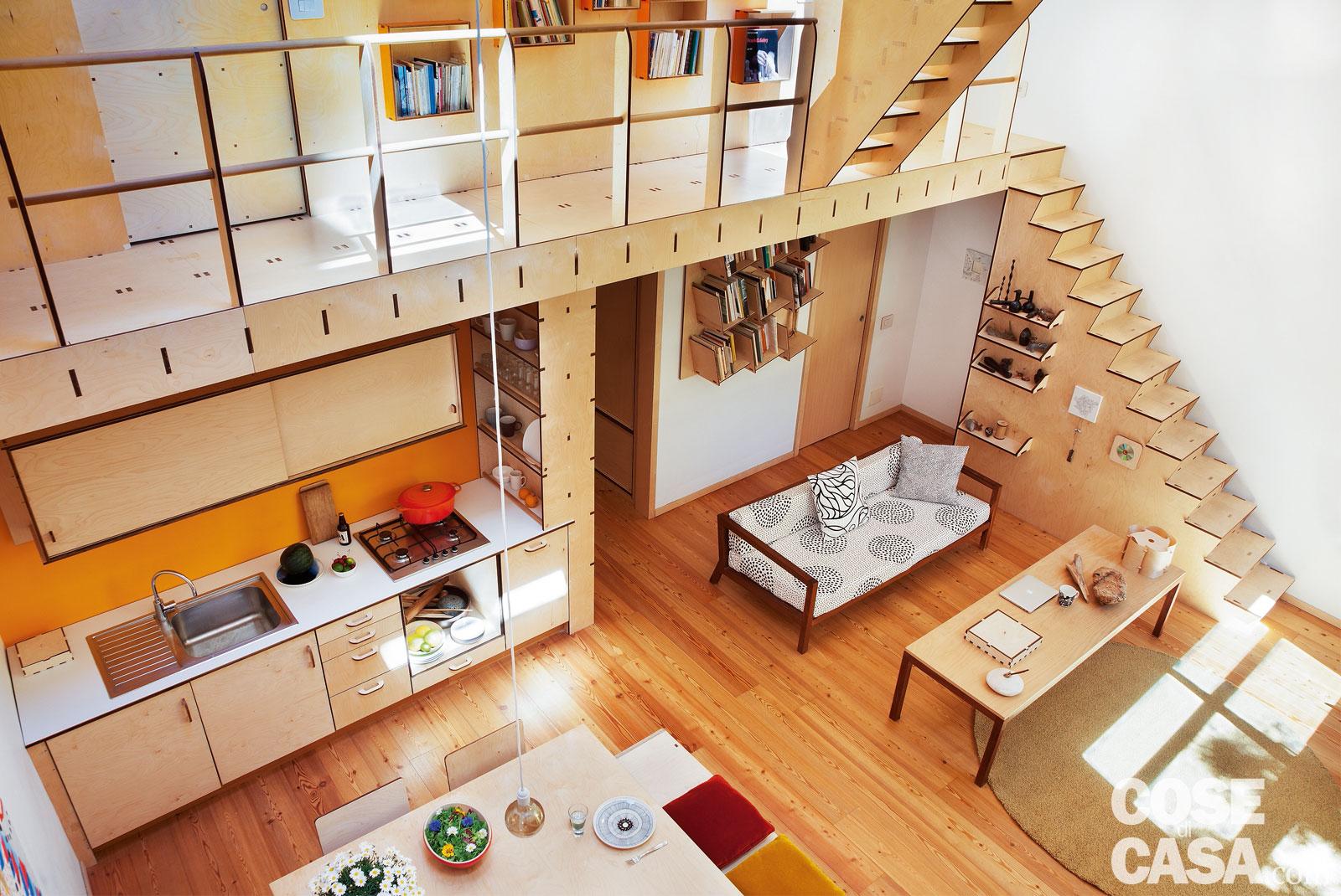 Costo Soppalco Al Mq casa 66 mq + 37 mq di sottotetto con scala che contiene