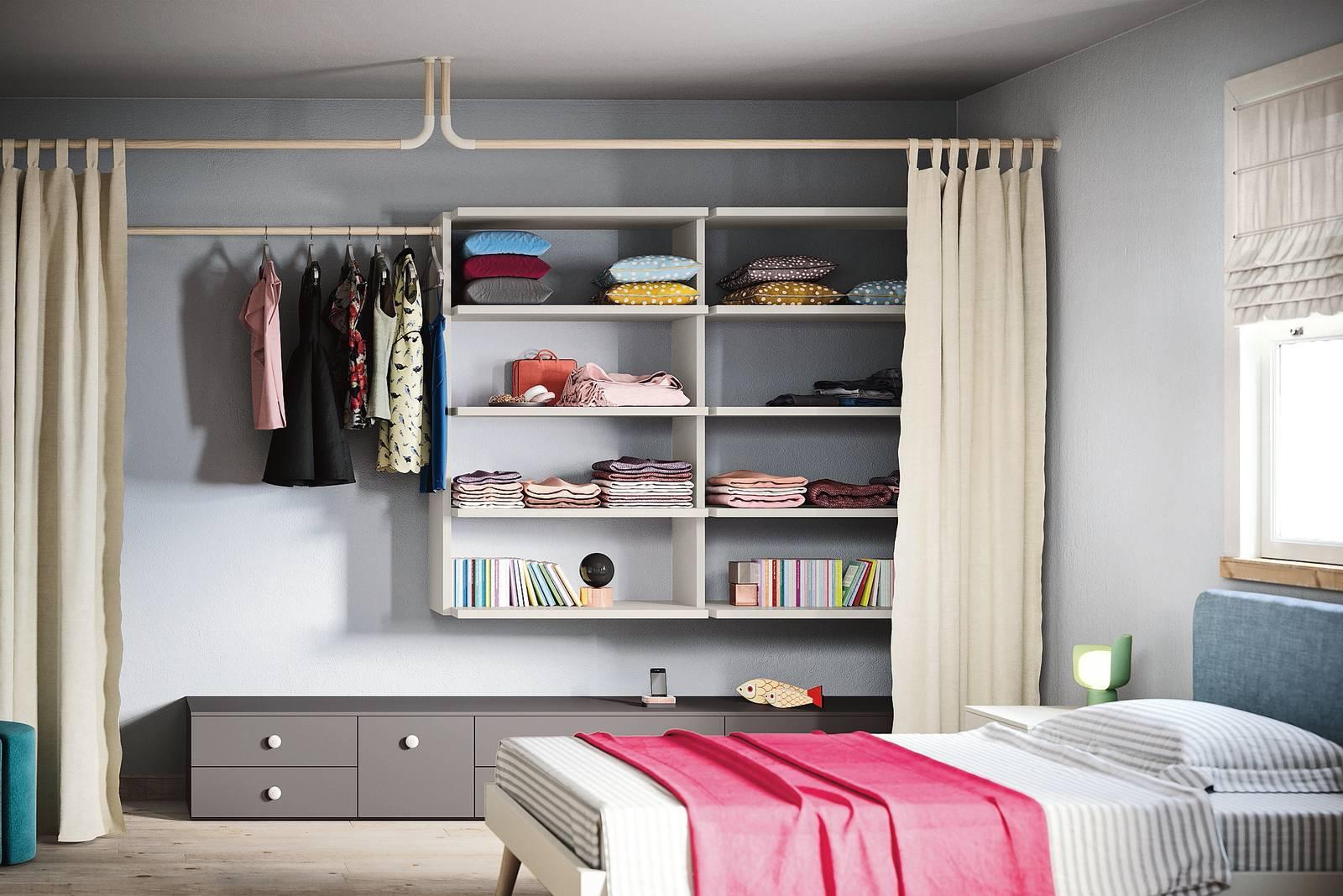 Armadio A Muro Design armadi con ante a libro tira-piega-apri - cose di casa