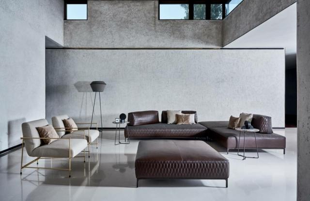 ditre Italia SandersAir divano casa in stile industrial
