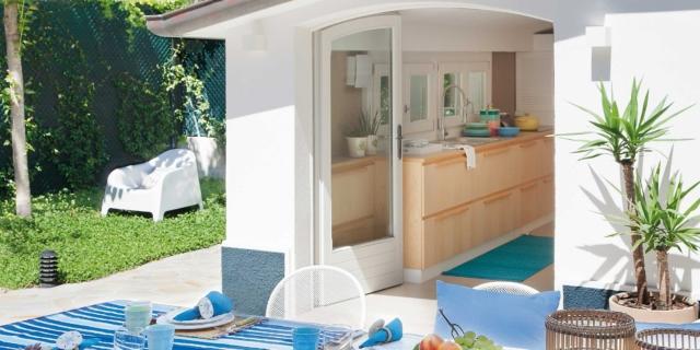 Villa al mare a Riccione, 85 mq + dépendance
