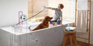 Design e tecnologia per un bagno pratico e confortevole
