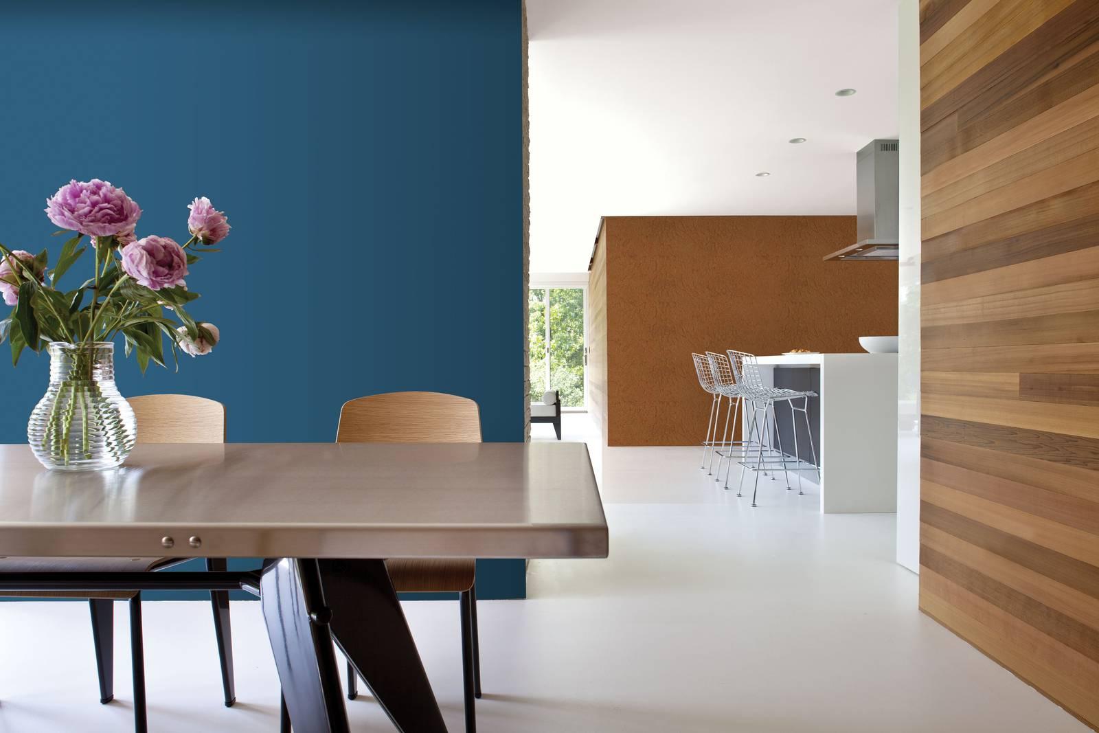 Colori Moderni Per Pareti Interne dipingere le pareti con il colore dell'anno 2020 blu pantone