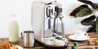 Macchine da caffè automatiche, con macina-chicchi integrato