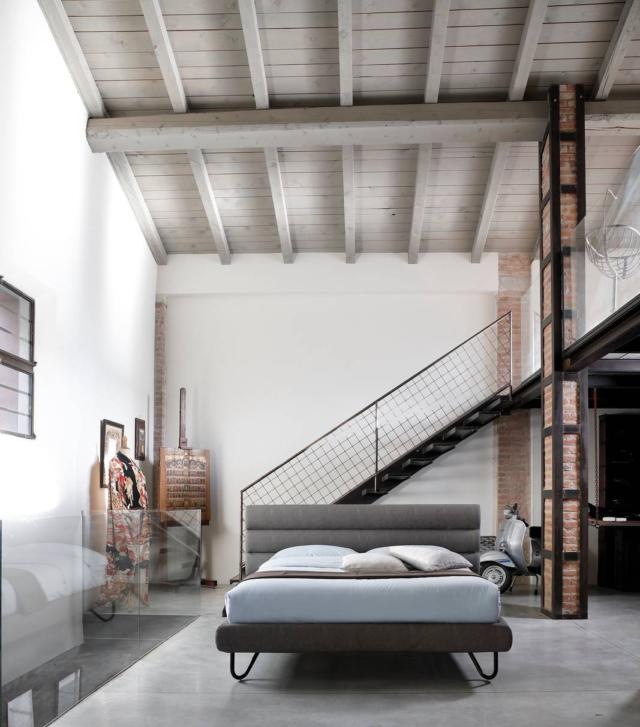 noctis_HUG 06_1 letto casa in stile industrial