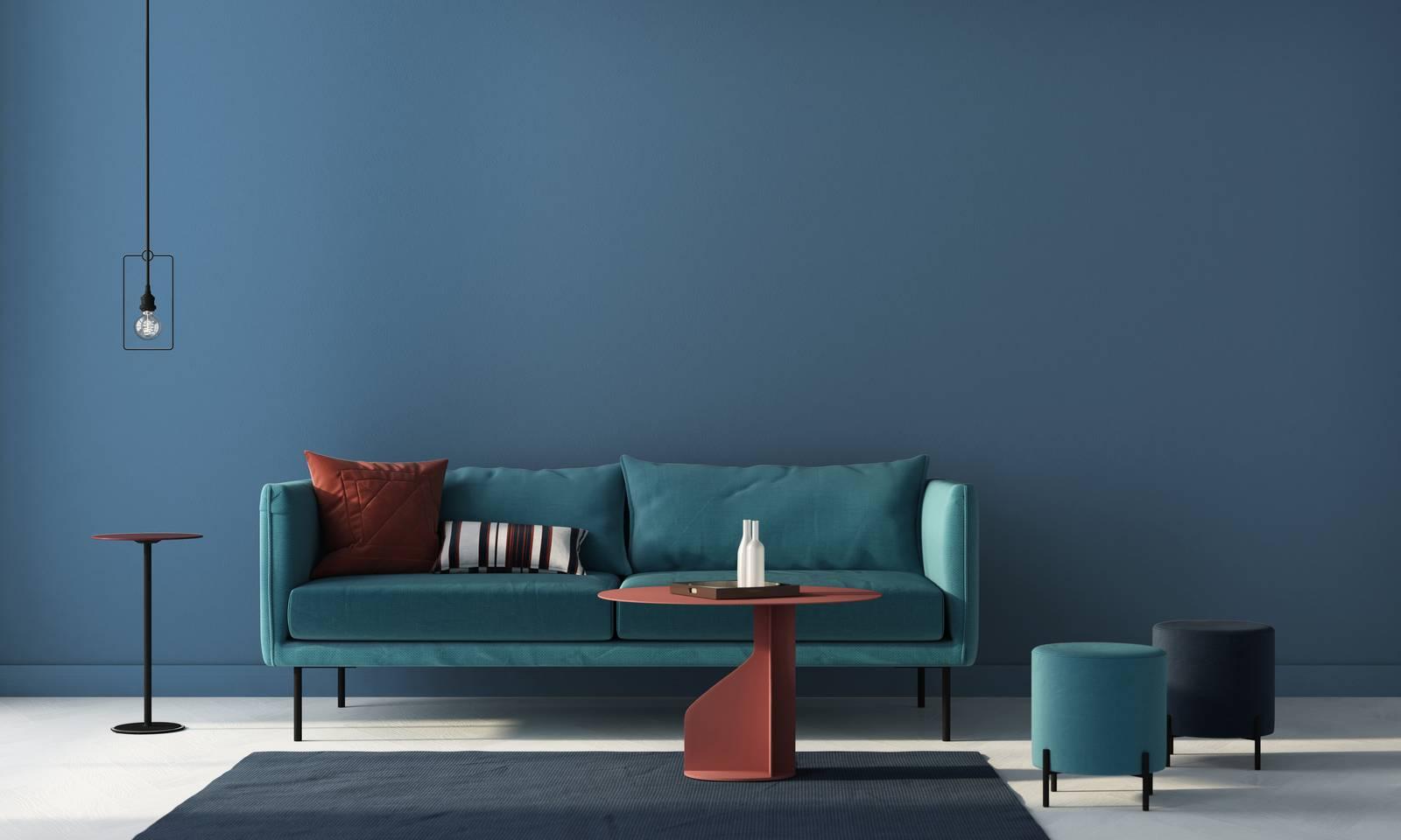 Dipingere Le Pareti Con Il Colore Dell Anno 2020 Blu Pantone Cose Di Casa