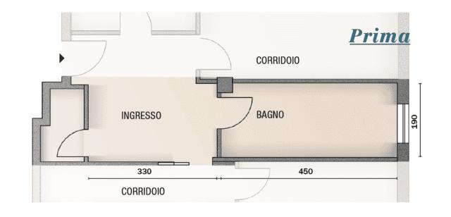Progetto Bagno Da Uno Ricavarne Due Cose Di Casa