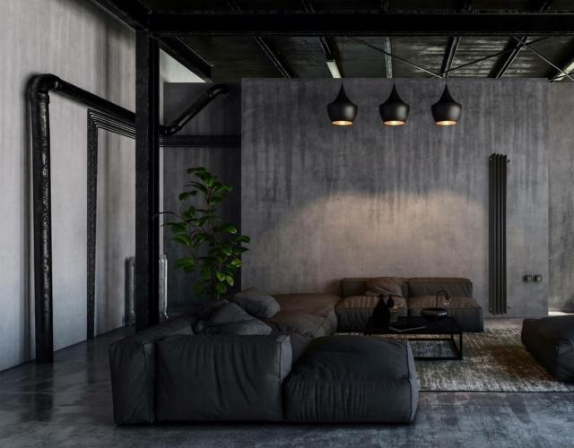 ridea OthelloZenith_amb1 radiatore casa in stile industrial
