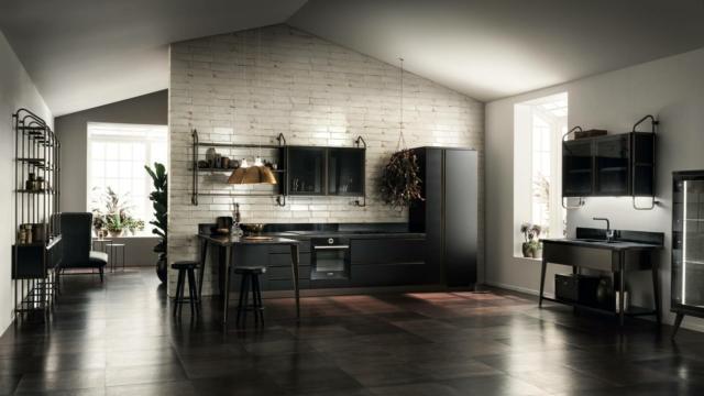 scavolini Diesel Open Workshop cucina casa in stile industrial
