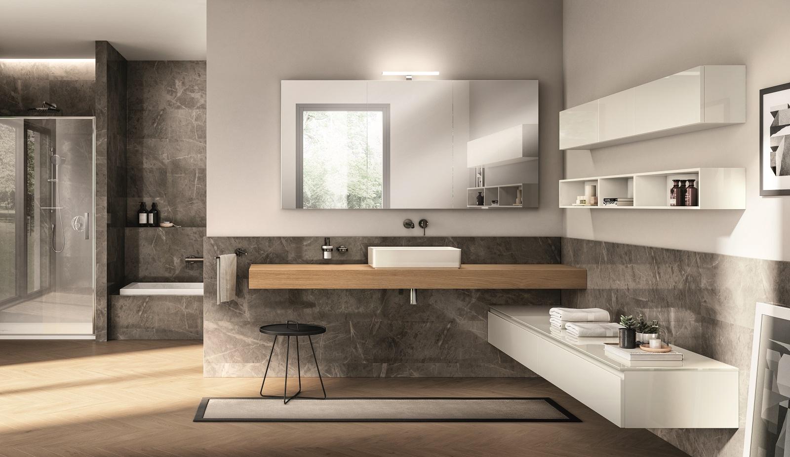 Mobile Sotto Mensola Bagno mensole bagno per il lavabo, eleganti e contemporanee - cose