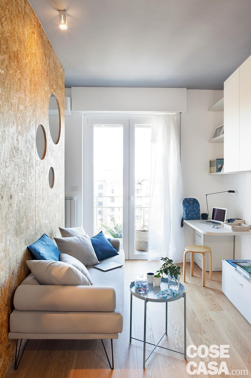 Come Arredare 30 Mq nel monolocale come dividere letto da soggiorno cucina