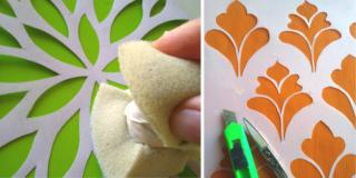 Decorare a stencil: come preparare il materiale