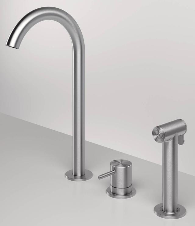 zazzeri-Z316-rubinetto con doccetta estraibile