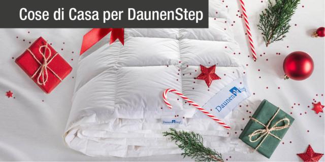 DaunenStep: il piumino dell'Alto Adige  vi augura un Natale caldo e soffice
