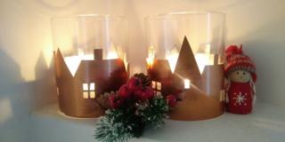 Decorazioni di Natale: lanterne fai da te