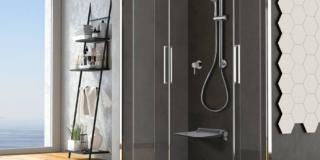 Doccia sicura, design for all: stile contemporaneo e minimale, in tutta sicurezza