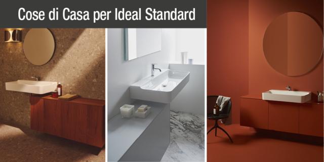 Mobili bagno e lavabi Conca di Ideal Standard: una collezione con tantissime composizioni personalizzabili