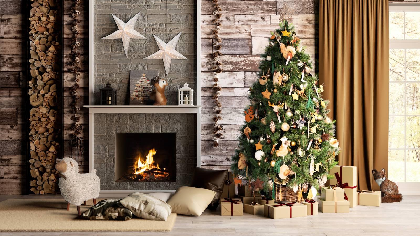 Decorazioni Natalizie A Poco Prezzo.Albero Di Natale Tradizionale O Piccolo E Salvaspazio Cose Di Casa