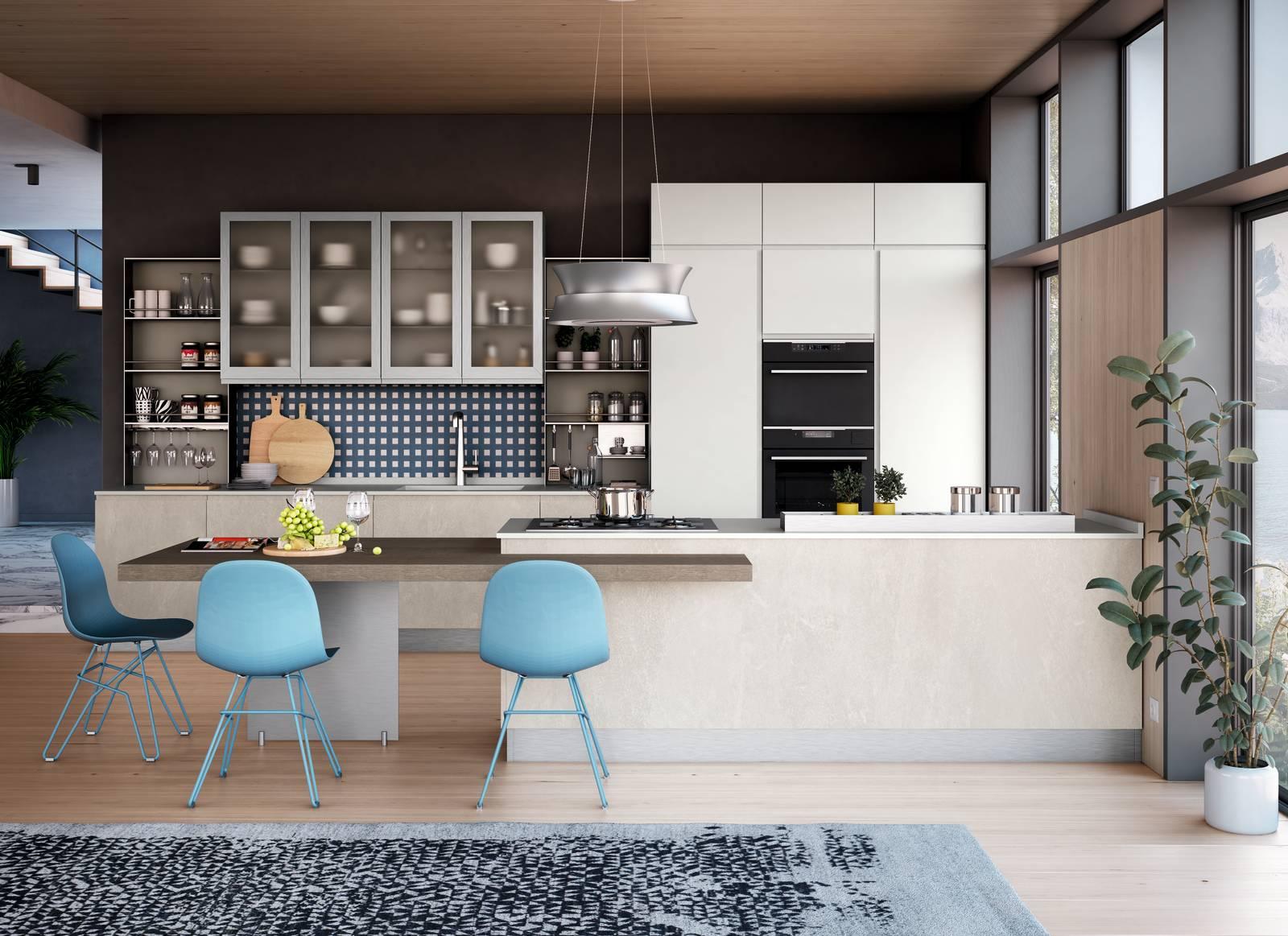 Ante Cucina In Vetro.Cucine Ante Vetro Colorato Satinato Trasparente Cose Di Casa