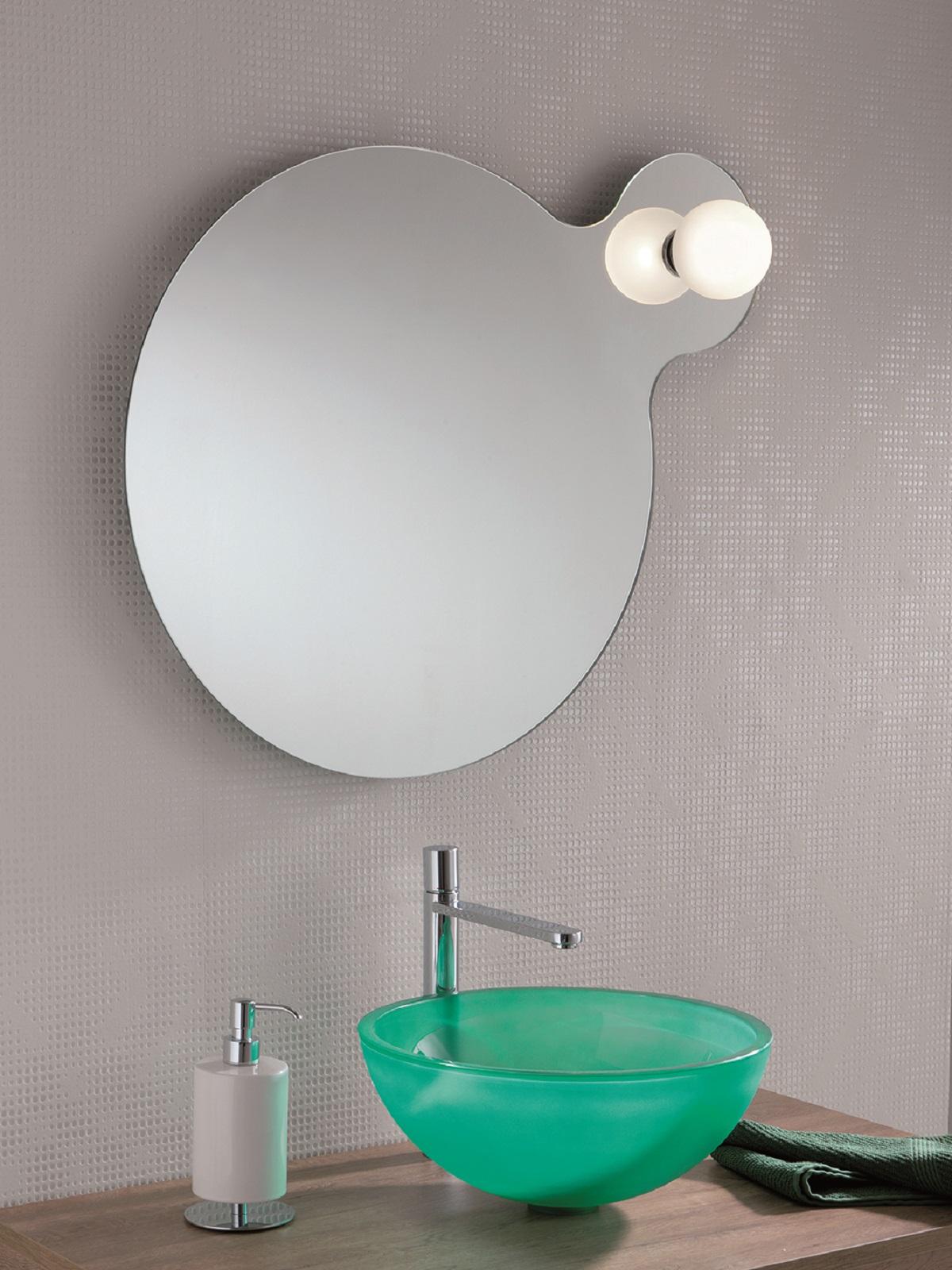 Specchi Del Bagno Semplici O Con Cornice Con Luce O Senza Retroilluminati Oppure No Cose Di Casa