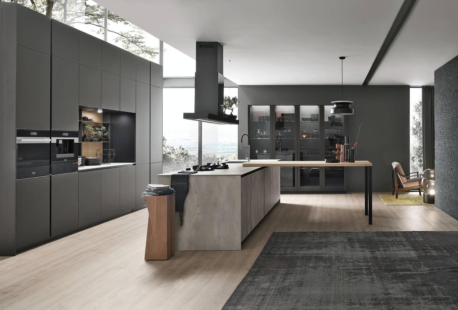 Cucine Ante Vetro Colorato Satinato Trasparente Cose Di Casa