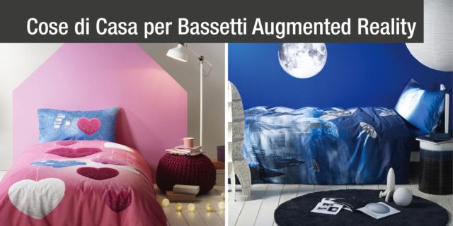 Con la Realtà Aumentata, dalle lenzuola Bassetti nascono sorprendenti soggetti 3D