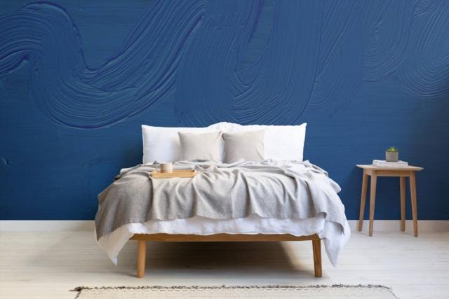 Dusk - Classic Blue mural classic blue
