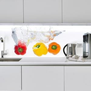 Schienali Della Cucina Personalizzati Funzionalita Ed Estetica Dei Pannelli Decorativi Li Ze A Cose Di Casa