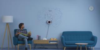 Scribit: il robot che riproduce opere d'arte sui muri, anche in streaming