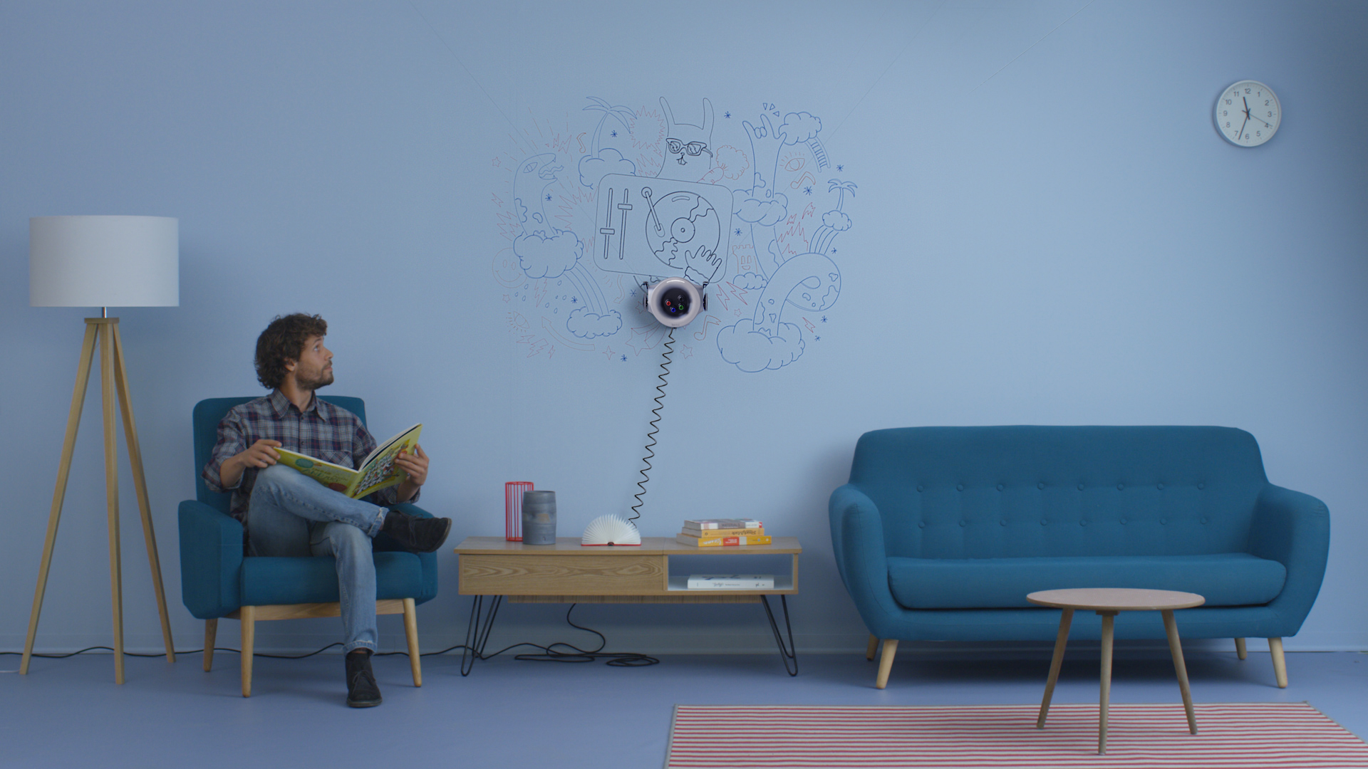 Disegni Sui Muri Di Casa scribit: il robot che riproduce opere d'arte sui muri, anche