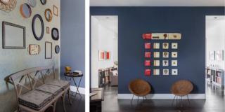 appendere bene i quadri con li consigli dell'architetto Clara Bona