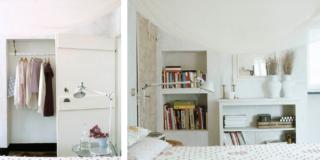 Clara Bona camera progetto rustico recuperato in Liguria