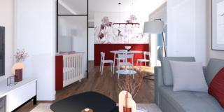 Bilocali: come ricavare uno spazio per il lettino in soggiorno?