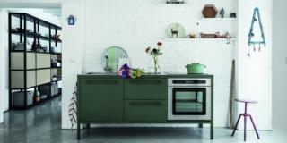 cucina Fantin FRAMING metallo colorato