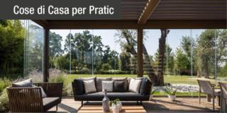 Pergole bioclimatiche Pratic: il soggiorno da vivere all'aperto