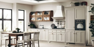 Le nuove cucine in stile rétro e classico
